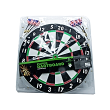 "Dartboard 17"" With 2 Dart Sets: Jdbp017:"