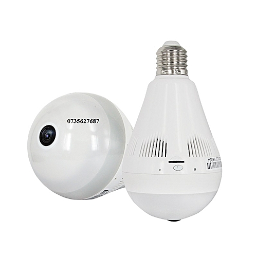 2018 1080P Nanny/Hidden CCTV 360 Bulb with Night Vision