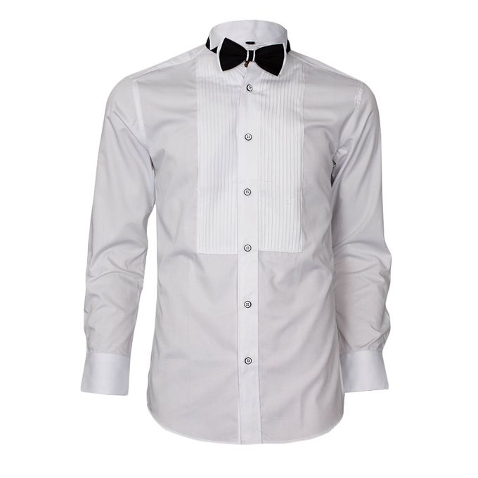 Exclusive Weddings White Slim Fit Tuxedo Wedding Dinner