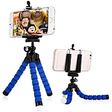Universal Adjustable Cell Phone Tripod Octopus Holder Stand with Mount Adapter for iPhone 5S 6S Plus Samsung Sony HTC Smartphone Camera etc.