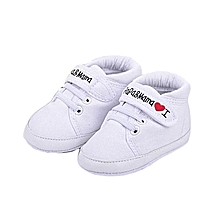 b58d24bb3ca24 bluerdream-Baby Infant Kid Boy Girl Soft Sole Canvas Sneaker Toddler Shoes  WH 11