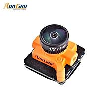 Runcam Micro Swift 3 4:3 600TVL CCD Mini FPV Camera 2.1mm M8 Lens PAL OSD Configuration [M8 FOV 160° 2.1mm PAL]
