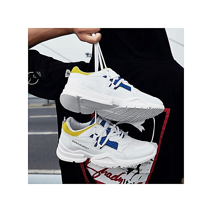 796c71e064142a ... 2018 Hot Sale Four Seasons Running Shoes Men Lace-up Athletic Trainers  Zapatillas Sports Male ...