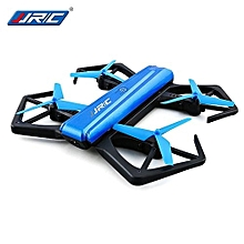 JJRC H43WH Mini Foldable RC Selfie Drone BNF WiFi FPV 720P HD / Pincer-shaped Protection Frame / G-sensor Mode_BLUE