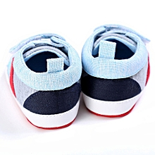 Baby Shoes Boy Girl Newborn Crib Soft Sole Shoe Sneakers LB/1