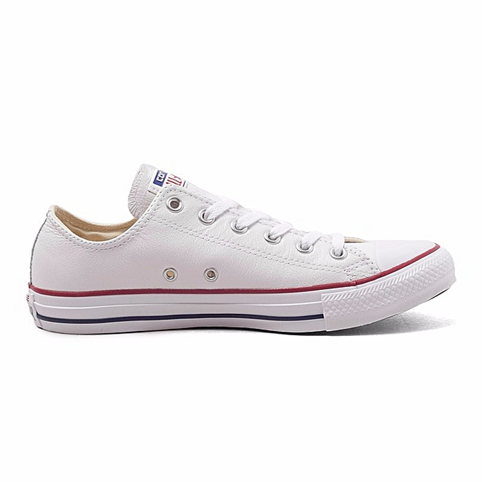 4850a85080 Fashion Converse All Star Canvas Shoes Unisex MEN'S & WOWEN'S Skateboarding  Sneakers Low Classic Shoes White Large size 46