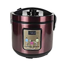 110V US Plug 6L Automatic Black Garlic Fermenter Fermentation Thickened Aluminum Alloy Frame