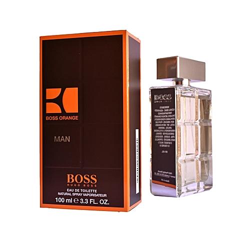 Hugo Boss Orange Man Eau De Toilette Natural Spray 100ml At Best