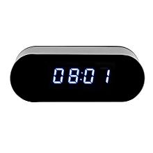Digital Spy Camera Electronic Clock Camera Hidden Camcorder 1080P HD Video Cam DVR IR Night Vision Motion Detection .