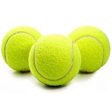 3 Tennis Balls Sports Tournament Outdoor Fun Cricket Beach Dog Activity Game Toy,,,,,,,,