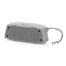 NR - 4019 Outdoor Wireless Bluetooth Stereo Speaker Portable Player-GRAY