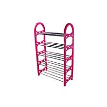 Shoe Rack - Pink