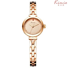 Business Ladies Bracelet Luxury Watch K6145S - Gold