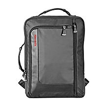 QUEST-BP :Black  Laptop Back Pack, Lightweight Business Laptop Backpack with Secure Storage, Organizer, and Multiple Quick Access Pockets for Travel, Laptop, Hiking