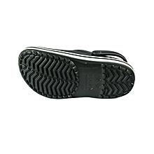 bb54573cc095 Sandal Crocband Black Unisex- 11016-001- M5 W7