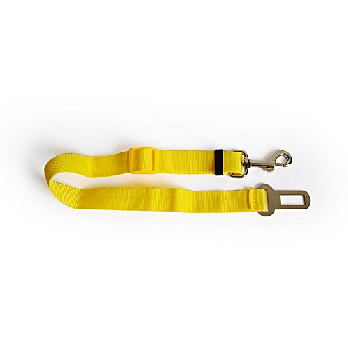Extensible Dog Leash Chest Strap Dog Cord Dog Chain Pet Traction Rope yellow