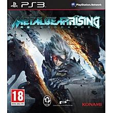 PS3 Game Metal Gear Rising Revengeance