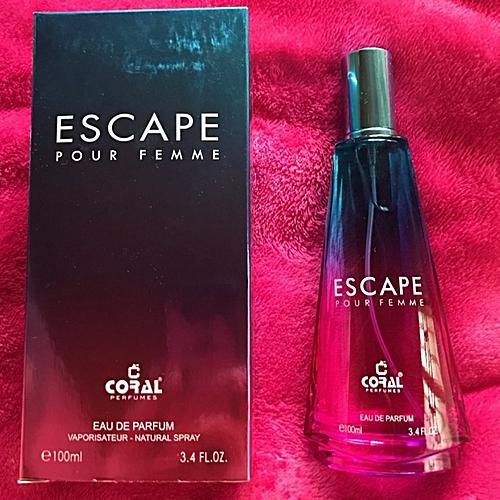 Femme Escape Pour Noir Noir 100ml Escape Pour 9IDEYWH2