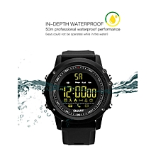 EX17 Smart Sports Bluetooth Watch 5ATM Waterproof Long Working-time for 2 Years BDZ