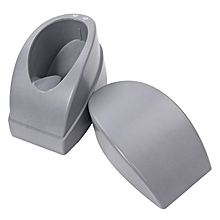 French Nail Dipping Acrylic Powder Container Manicure Tool Smile Line Dip Mould Guides