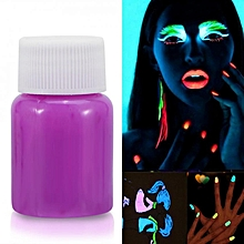 Halloween Fluorescent Body Painting Pigment Luminous Glow-in-the-Dark Color Makeup (#4)