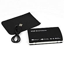 External Casing For Laptop Hard Drive - Black