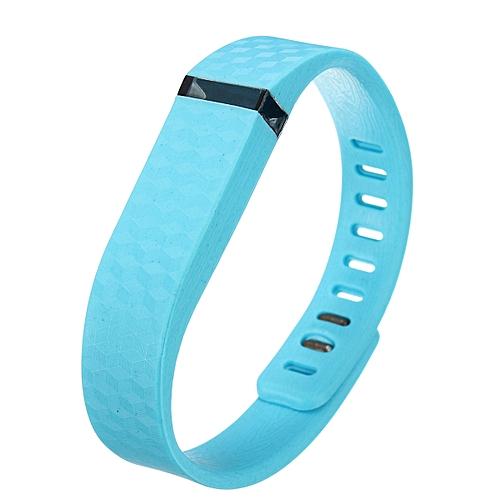 3D Replacement Wrist Band W/Clasp For Fitbit Flex Bracelet Large L (No  Tracker) Sky Blue