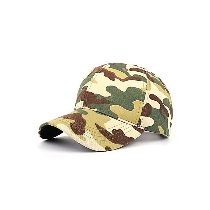 5c7829e2f4ebc Women Men Casual Tactical Outdoor Camouflage Sports Cap Baseball Cap Hat GN  ...