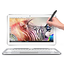 ALLDOCUBE Mix Plus 2 in 1 Tablet PC 10.6 inch Windows 10 IPS Capacitive Screen Intel Kaby Lake Core M3-7Y30 Dual Core 1.61GHz 4GB RAM 128GB SSD 2.0MP + 5.0MP Cameras Bluetooth 4.0 OTA OTG - SILVER