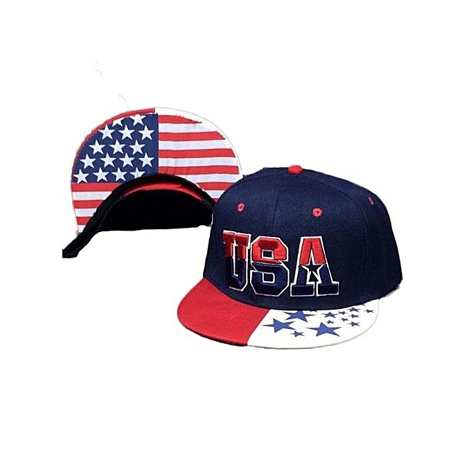 USA American Flag Snapback Cap Adjustable United States Baseball Cap Hat 1d2a88e2dc8