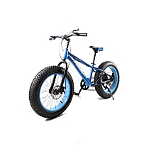 "16"" Blue Fat Tire Bike"