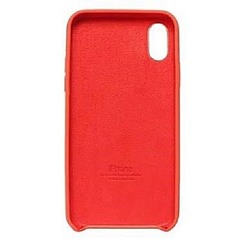 separation shoes 97543 f02e7 Apple Silicone case for iPhone x-Red
