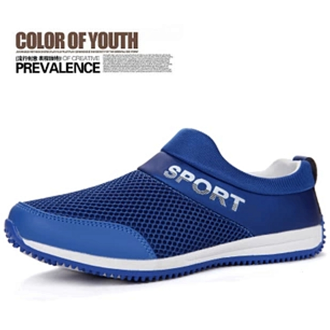 Men Hollow Woven Breathable Mesh Shoes