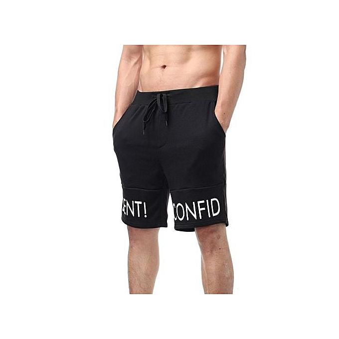 d8a50577d2d279 Fashion Podom Design Brand Men'sport Shorts Casual Gym Boys Shorts Men Plus  Size Jogger Trousers Knee Length Shorts