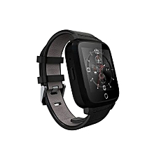 U11S Bluetooth 4.0 WIFI GPS Heart Rate Monitor Smart Watch(Black)