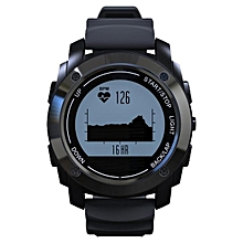 S928 Bluetooth GPS Sports Smart Watch Waterproof with Heart Rate Monitor(Black)