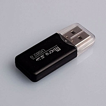 High Speed Mini Usb 2.0 Micro SD TF Memory Card Reader Adapter