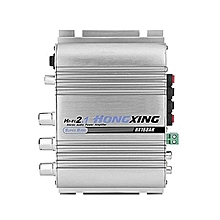 Car Amplifier 12V 2.0+Super Bass Hi-Fi 2.1 Channel Stereo Audio Mini AMP