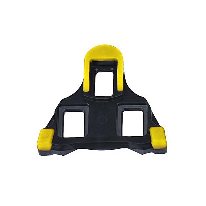 433c94b37 2 X Bicycle Bike Self-locking Pedal Cleats Set Yellow For Shimano SM-SH11