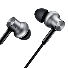 Xiaomi QTEJ02JY In-ear Hybrid Earphones Pro HD Dynamic Balanced Armature Driver Volume Control-SILVER