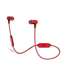 E25BT Wireless In-Ear Headphones Red