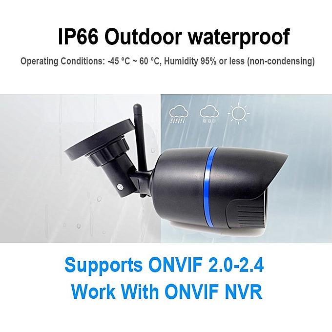 IP Camera Wifi 720P 960P 1080P HD Wireless Cctv Security Indoor Outdoor  Waterproof Audio IPCam Infrared Home Surveillance Camera(720P Camera