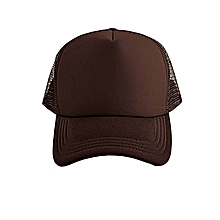 e4b60d6834c brown adjustable tracker mesh baseball cap