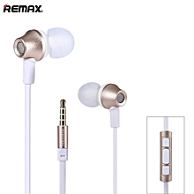 Remax RM-610D Earphone with Microphone & Volume Control  OPTTCOOL