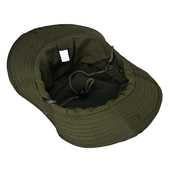 b6c5492e9e2 ... Bucket Hat Boonie Hunting Fishing Outdoor Cap Brim Military Army GN ...