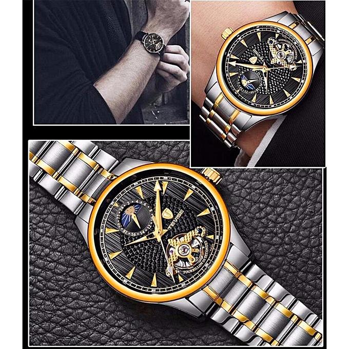 4fa3123c184 ... Wristwatch Male Clock T808B · New Popular Top Brand TEVISE Relogio  Automatico Masculino Men Mechanical Watch Fashion blue Waterproof Business  Luxury