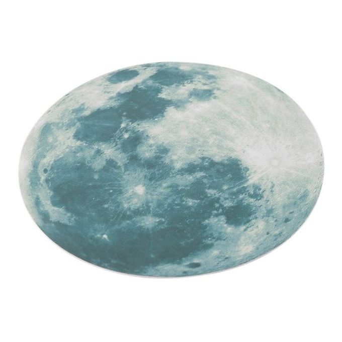 Cocobuy fluorescent moon wall stickers home decor for Home decorations on jumia