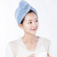 XIAOMI Home Soft Skin Friendly Fiber High Hygroscopicity Ultra Quick Hair Drying Cap Hair Drying Towel