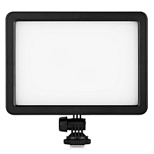 PC - K128C 128 LED Video Light Dimmable Ultra High Power Panel For Digital SLR Cameras Camcorders