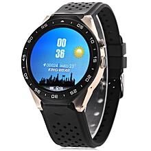KingWear KW88 Android 5.1 1.39 inch Amoled Screen 3G Smartwatch Phone MTK6580 Quad Core 1.39GHz 512MB RAM 4GB ROM GPS Gravity Sensor Pedometer ROSE GOLD